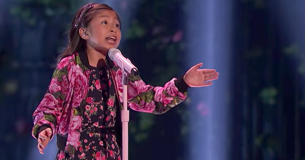 9-Year-Old Belts Out Amazing Version Of 'When You Believe'