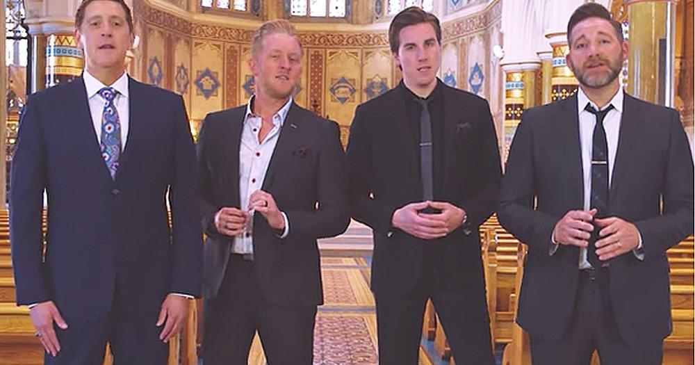 Southern Gospel Quartet's Breathtaking Version Of 'Give Me Jesus'