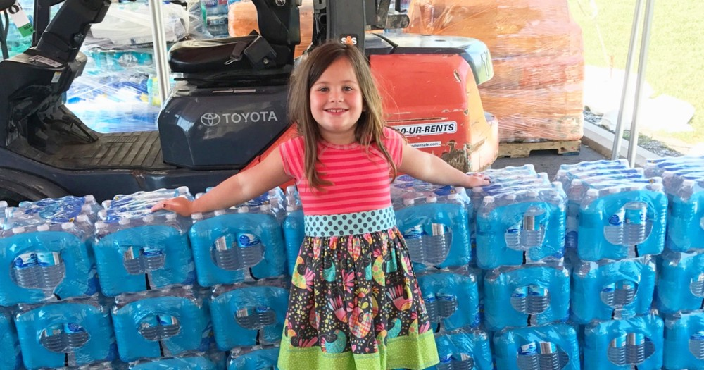 Kind 5-Year-Old Girl Donates Birthday Money To Hurricane Survivors