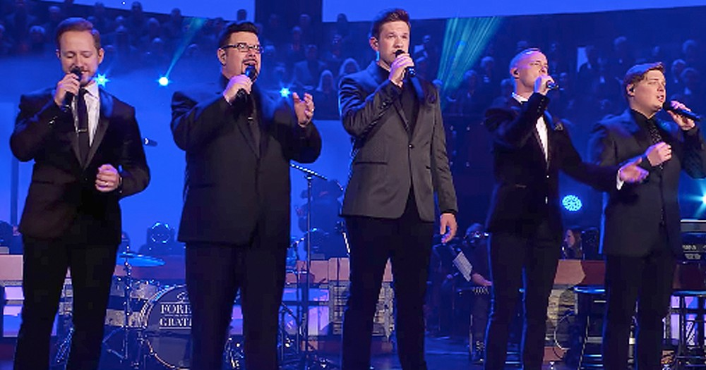 Men's Vocal Groups Incredible Rendition Of 'The Lord's Prayer'