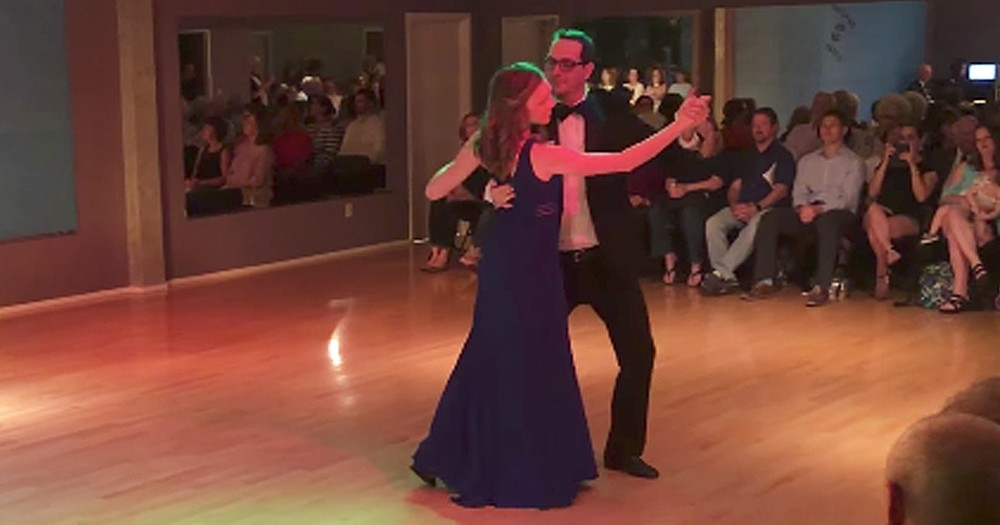 Couple's Beautiful Waltz Turns Into Epic Marriage Proposal