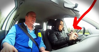 The Driving Instructor Told Them To Text And Drive. What Happened Next Gave Me Chills!