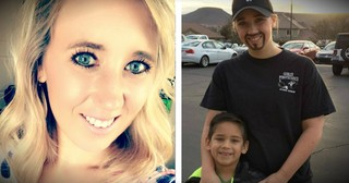 Single Mom Painted On Facial Hair And Went To Her Son's School