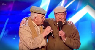 Elderly Best Friends Audition with 'You Make Me Feel So Young'