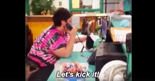 School Secretary Hilariously Raps For Teachers Leaving For The Summer