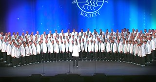 Vocal Majority Barbershop Group Performs 'Danny Boy'
