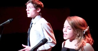 Talented Teen Duo Performs 'The Prayer'