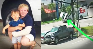 Boy Saves Baby Brother In Car Accident