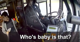 Bus Driver Helps Lost 2-Year-Old Get Back Home