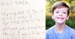 9-Year-Old Boy Applies For NASA Job With Creative Letter