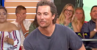 Matthew McConaughey Shares Biblical Meaning Of His Son's Name