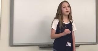 13-Year-Old Girl's Inspiring Poem Goes Viral