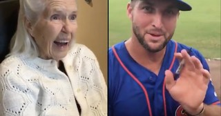 Grandma Receives Loving Message From Tim Tebow