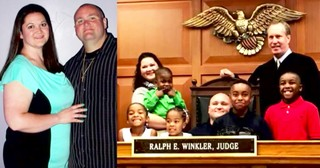 Foster Parents Selflessly Adopt Five Biological Siblings