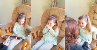 Mom Brings Little Girl To Tears During Pregnancy Reveal