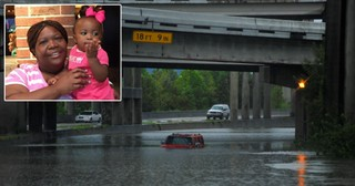Mom Loses Life Saving 3-Year-Old Daughter In Harvey Floodwaters