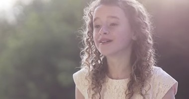 12-Year-Old Girl's Beautiful Rendition Of 'I Know That My Savior Loves Me'