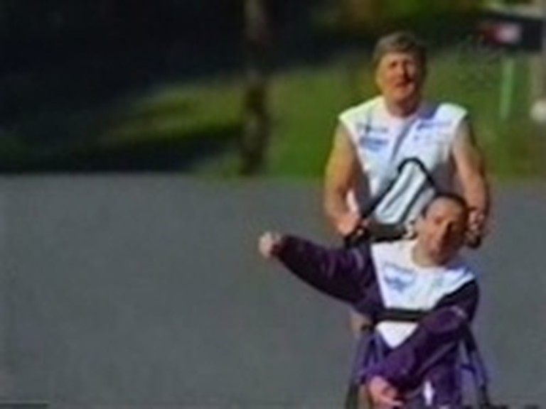 Inspirational Video Featuring Team Hoyt in a Triathlon