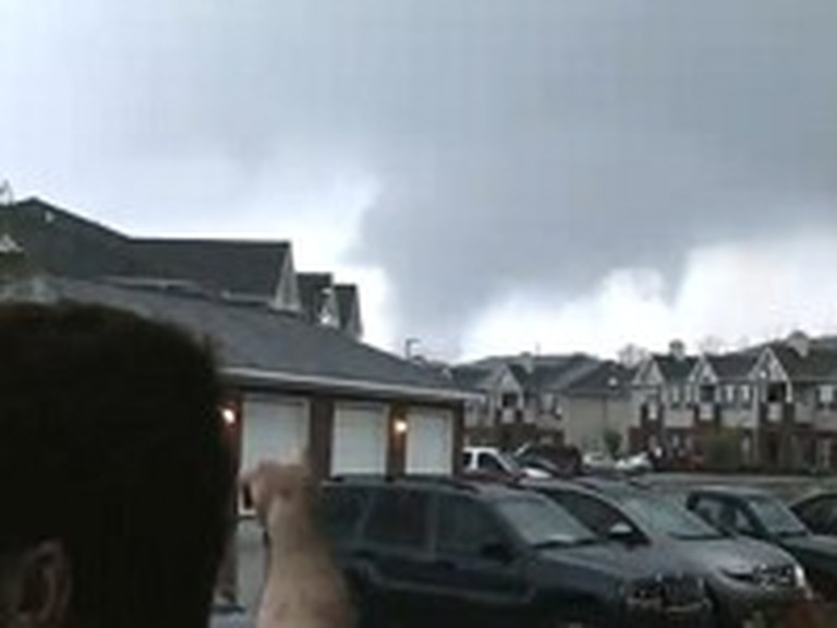 Man Rebukes Tornado in the Name of Jesus Christ