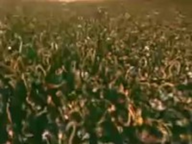 Literally Millions of Christians Worshiping Together - WOW