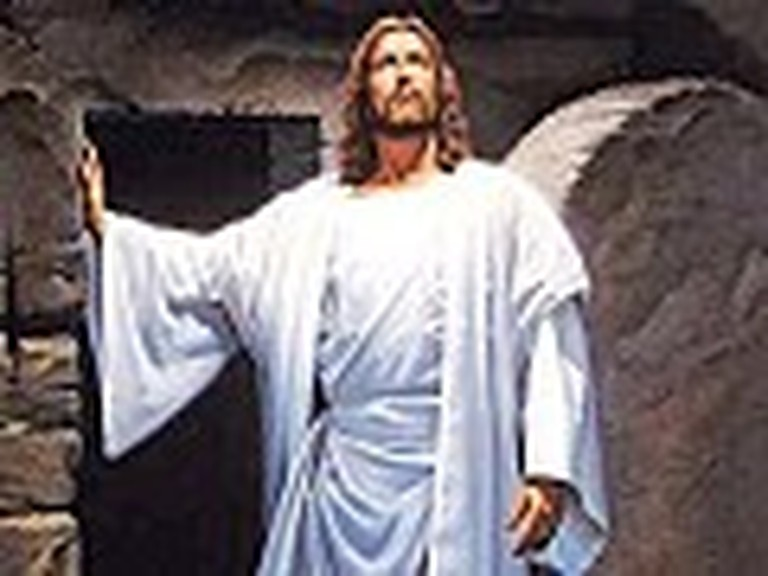 Picture of Jesus Exiting the Tomb