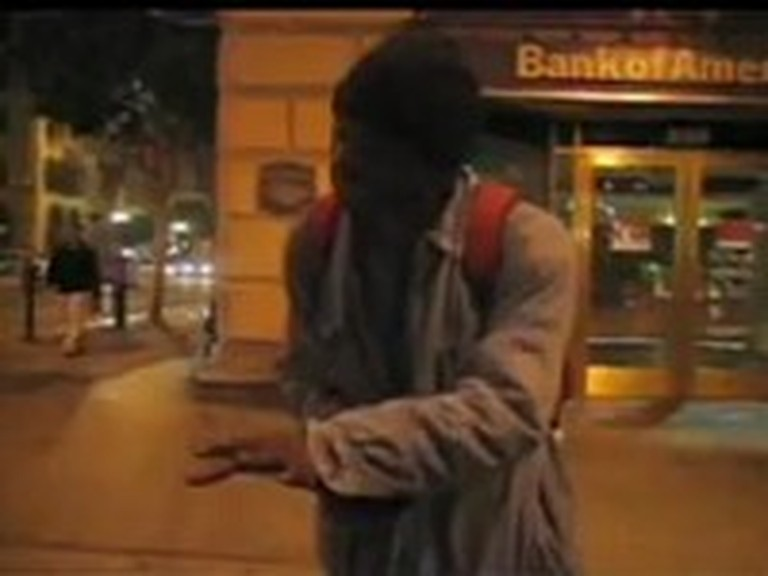 Homeless Man Pours his Heart Out with Incredible Singing
