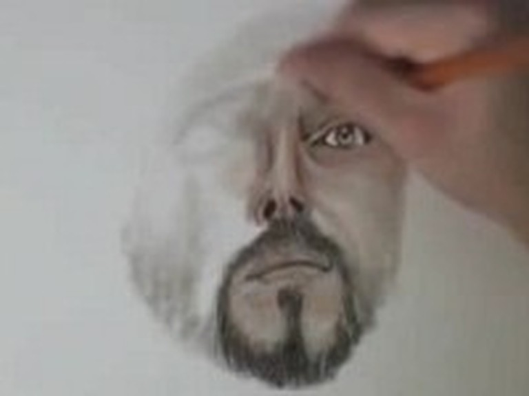 Incredible Time Lapse Drawing of Jesus
