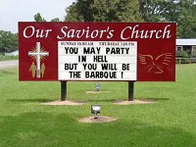 Hilarious and Unique Signs Outside of Church