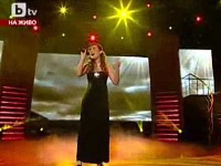 Blind Bulgarian Girl Leaves an Audience in Tears