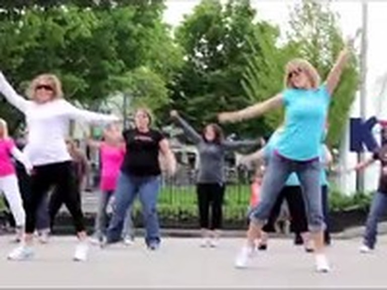 Pregnant Women Celebrate Life as a Flash Mob