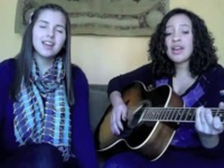 Two Girls Beautifully Cover Hosanna by Hillsong