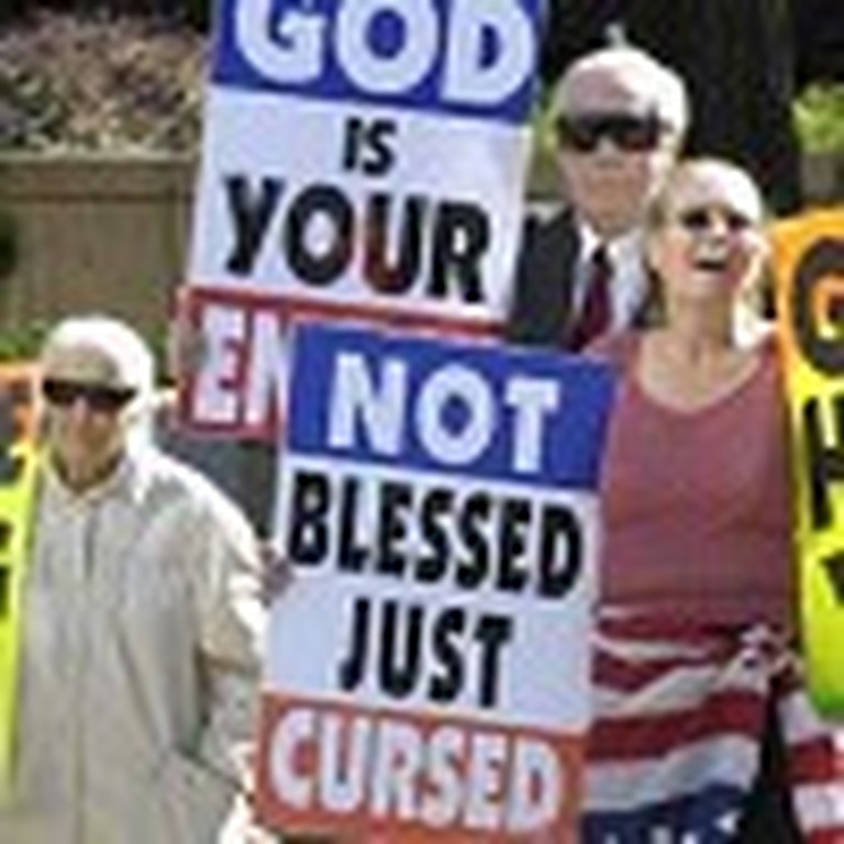 Marine Father Takes on the Cult Who Protested his Son's Funeral