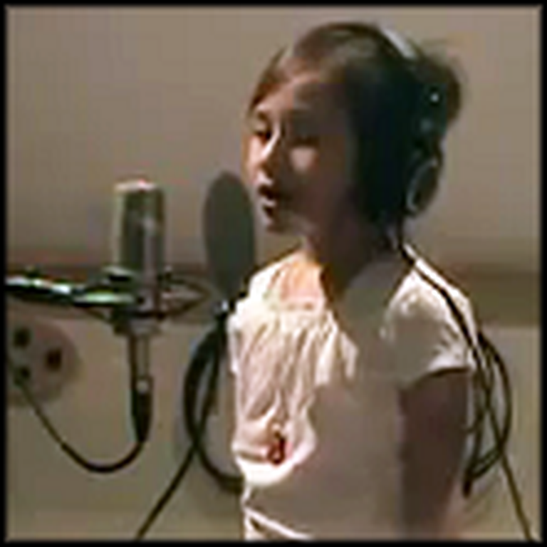 7 Year Old Sings an Absolutely Beautiful Version of Amazing Grace