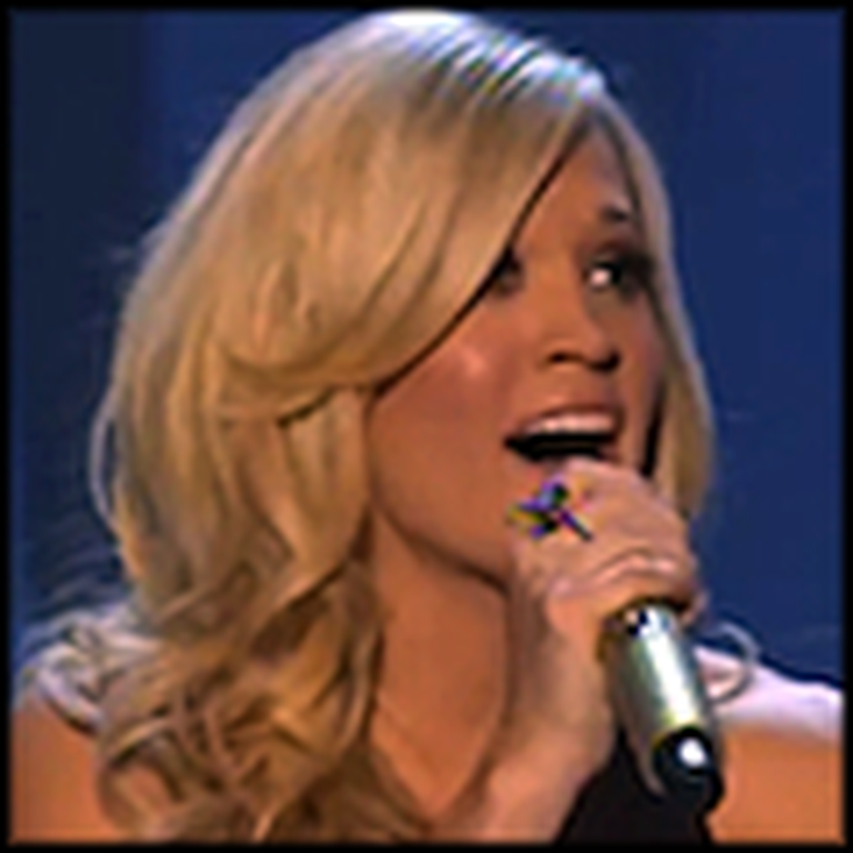 Carrie Underwood Sings a Live Version of Temporary Home
