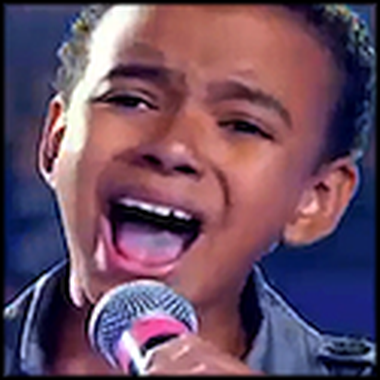 9 Year Old Brazilian Boy Sings Hallelujah - Simply Beautiful