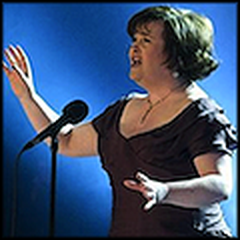Susan Boyle Sings a Wonderful Version of Amazing Grace
