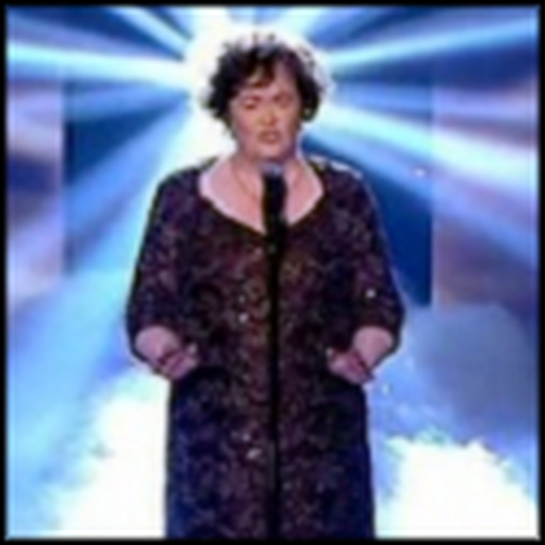 Susan Boyle Sings Hallelujah Like You've Never Heard Before