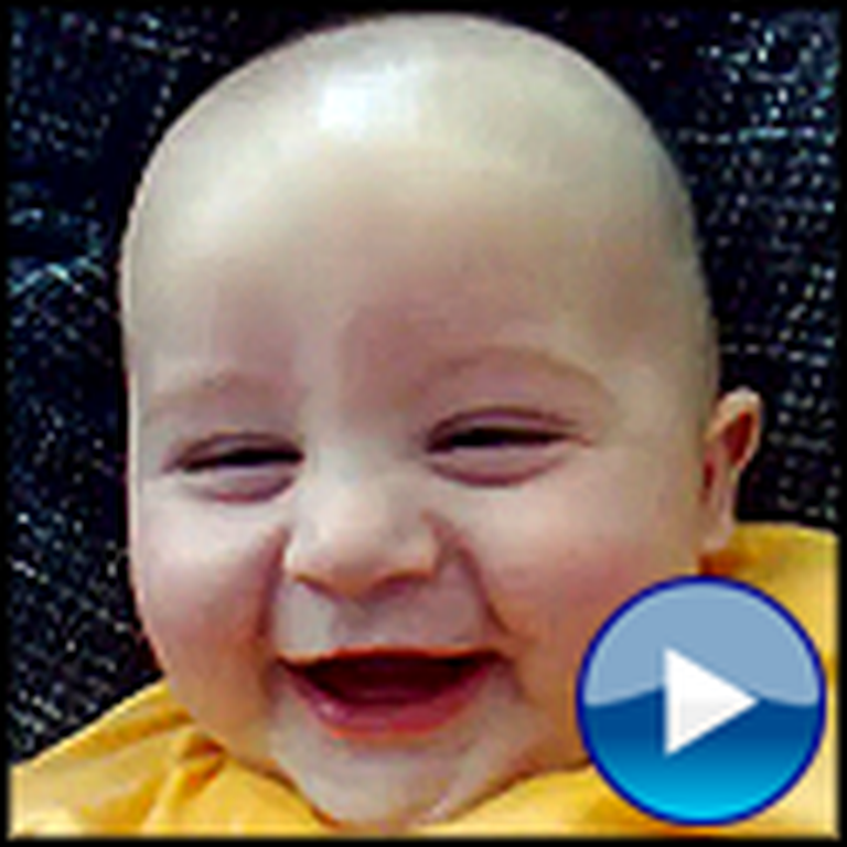 Another Laughing Baby That is Sure To Brighten Your Day