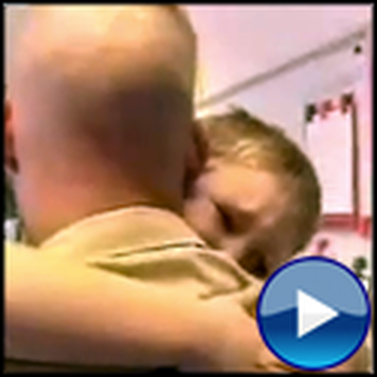 The Most Tearful Soldier Reunion Ever - So Touching