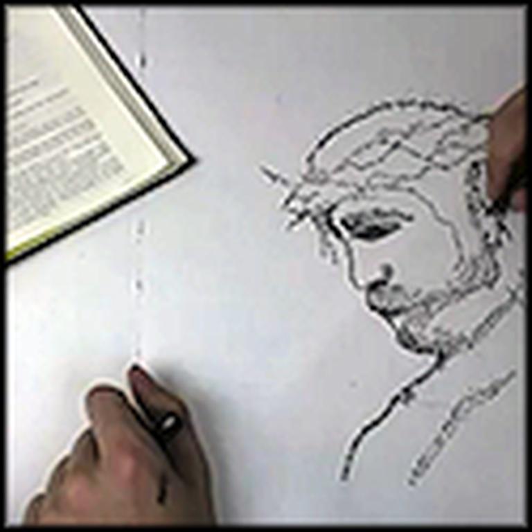 The Bible Written into Art - Amazing Video