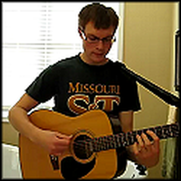 Amateur Musician Covers Grace Like Rain