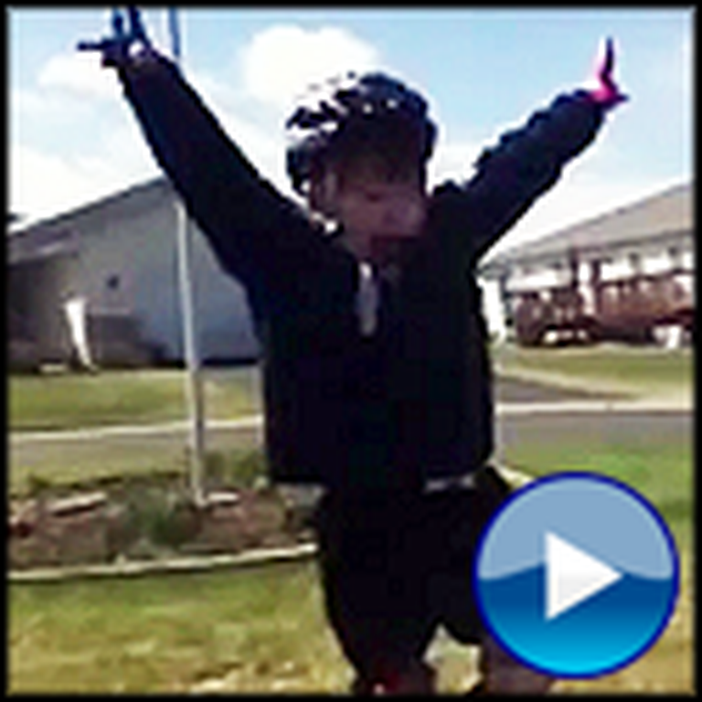 Little Boy Gives the Most Inspiring Speech After Riding a Bike