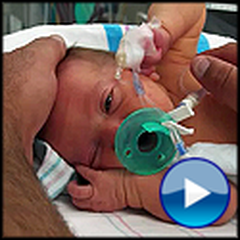 Watch God's Touching Miracle For a Little Baby Girl