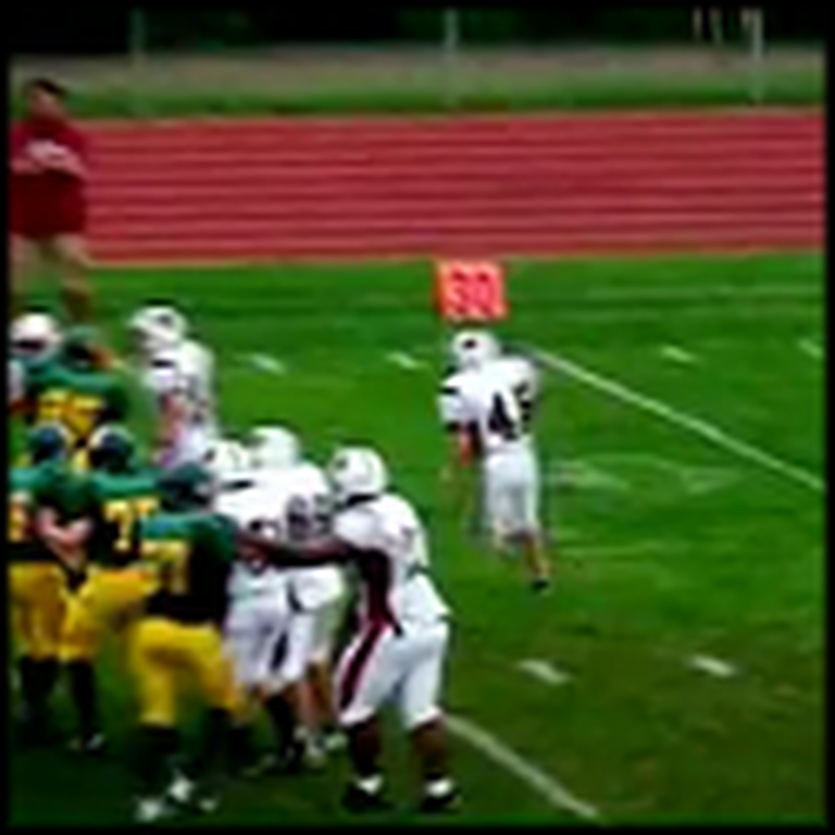 A Boy with Down Syndrome Scores a Heart Touching Touchdown