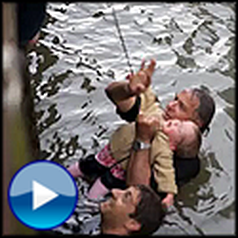 Father Shows his Amazing Love as He Rescues his Drowning 2 Year Old Son