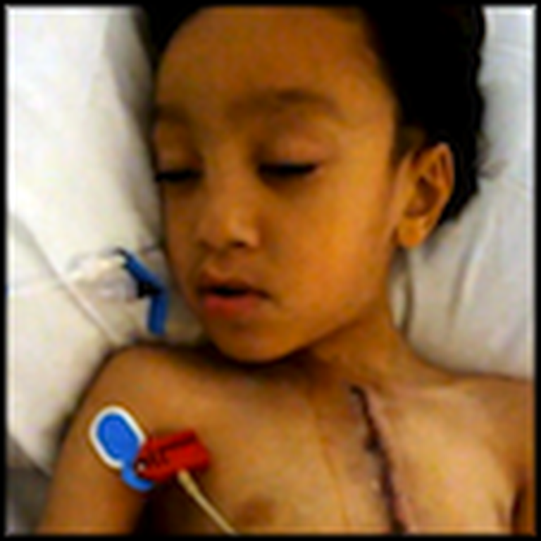 A Living Miracle - Boy Lives Despite his Heart Not Functioning