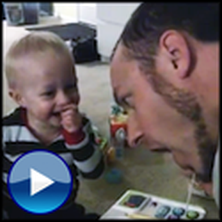 Baby Laughs Hysterically at Dad - This Will Make Your Day