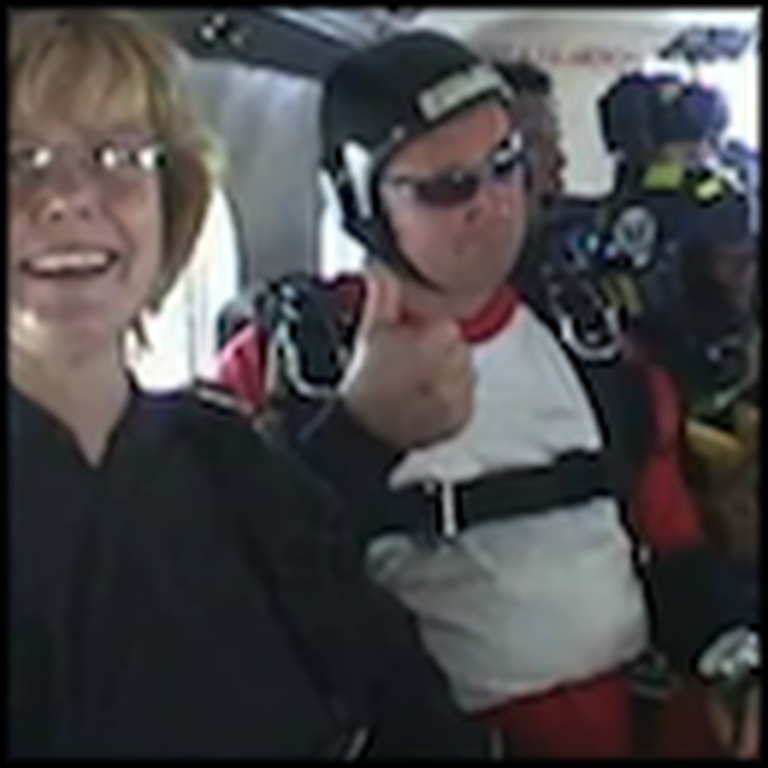 Heroic Man Gets Paralyzed Saving a Woman While Skydiving