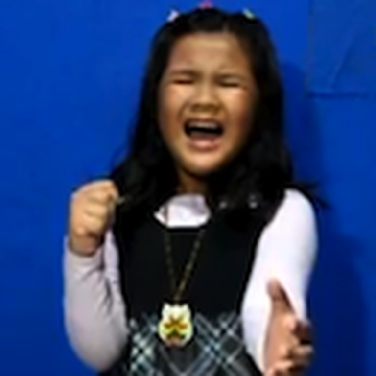 8 Year Old Fitri Cerado Sings Agnus Dei - You Won't Believe Your Ears