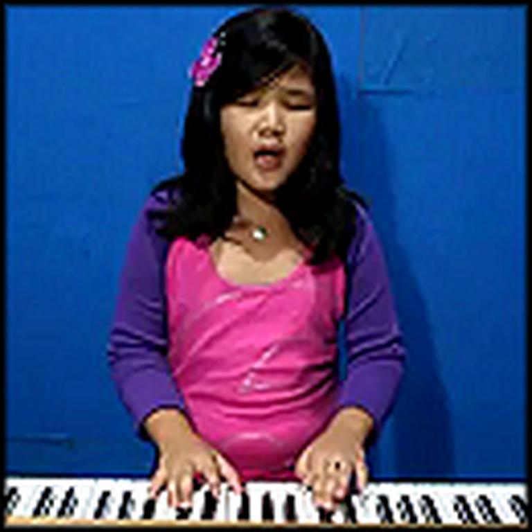 8 Year Old Fitri Cerado Sings Hurt - Beautiful